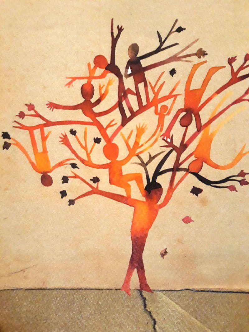 Drevo, Breza in Ženska